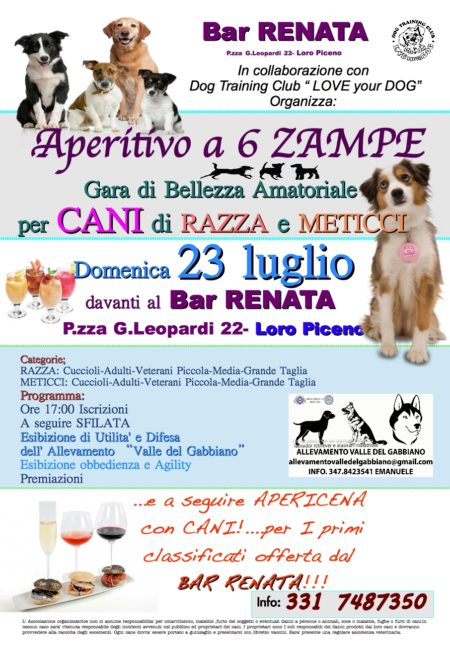 eventi love your dog loro piceno