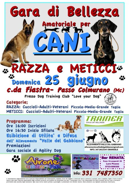 eventi love your dog